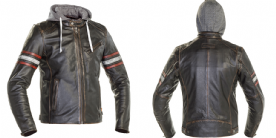 Richa Toulon 2 Leather Jacket Black Red